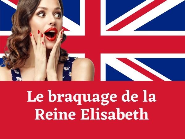 humour, blague sur les braquages, blague sur Élisabeth II, blague sur Lady Di, blague sur Sarah Ferguson, blague sur les dissimulations, blague sur les vagins
