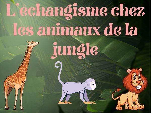 humour, blague animaux, blague jungle, blague sexe, blague sexualité, blague échangisme, blague zoophilie, blague satisfaction, blague lion, blague ouistiti, blague girafe, blague singe, blague taille