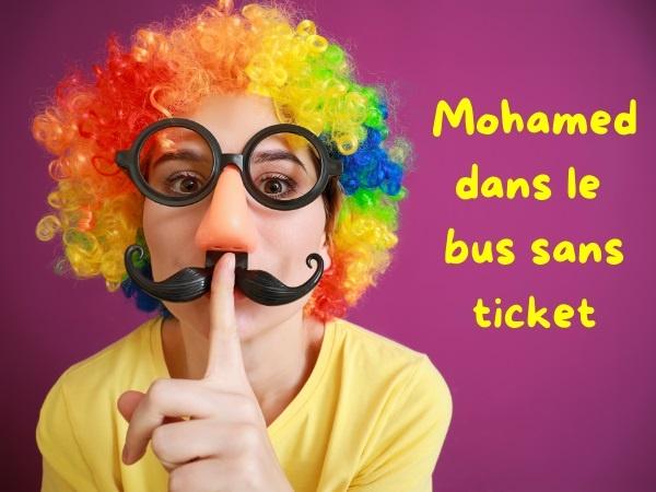 humour, blague arabe, blague bus, blague resquille, blague ticket, blague contrôle, blague contrôleur, blague carte orange, blague chauffeur, blague transport, blague abonnement, blague racisme, blague raciste