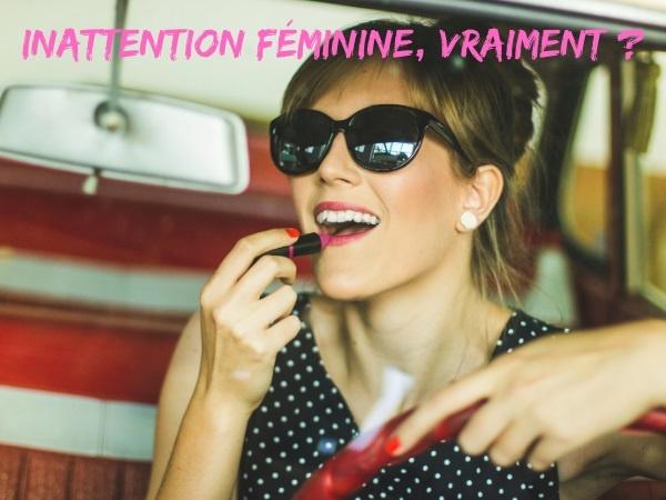 humour, blague sur les femmes, blague sur l'inattention, blague sur la conduite, blague sur les autoroutes, blague sur le téléphone au volant, blague sur les petits déjeuners