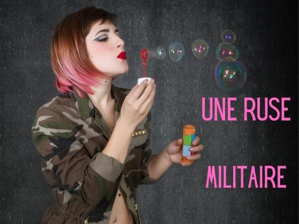 humour, blague sur les ruses, blague sur les militaires, blague sur les stratégies, blague sur les femmes, blague sur les Jeep, blague sur les clignotants