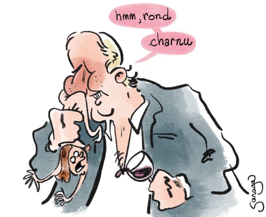 dessin presse humour Gérard Depardieu image drôle accusation viol