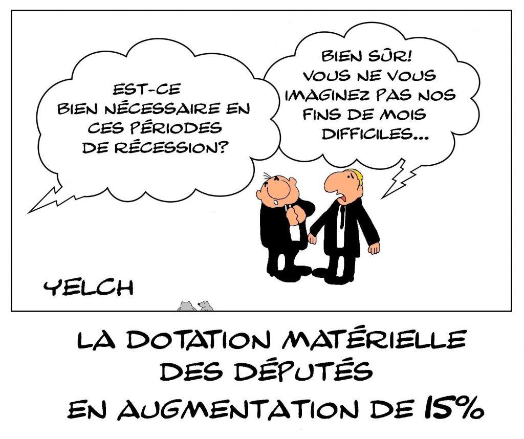 dessins humour politique députés image drôle augmentation dotation budget