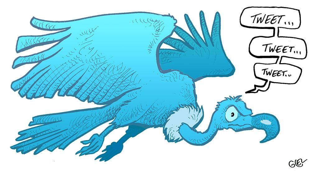 dessin presse humour tribunal réseaux sociaux image drôle Twitter