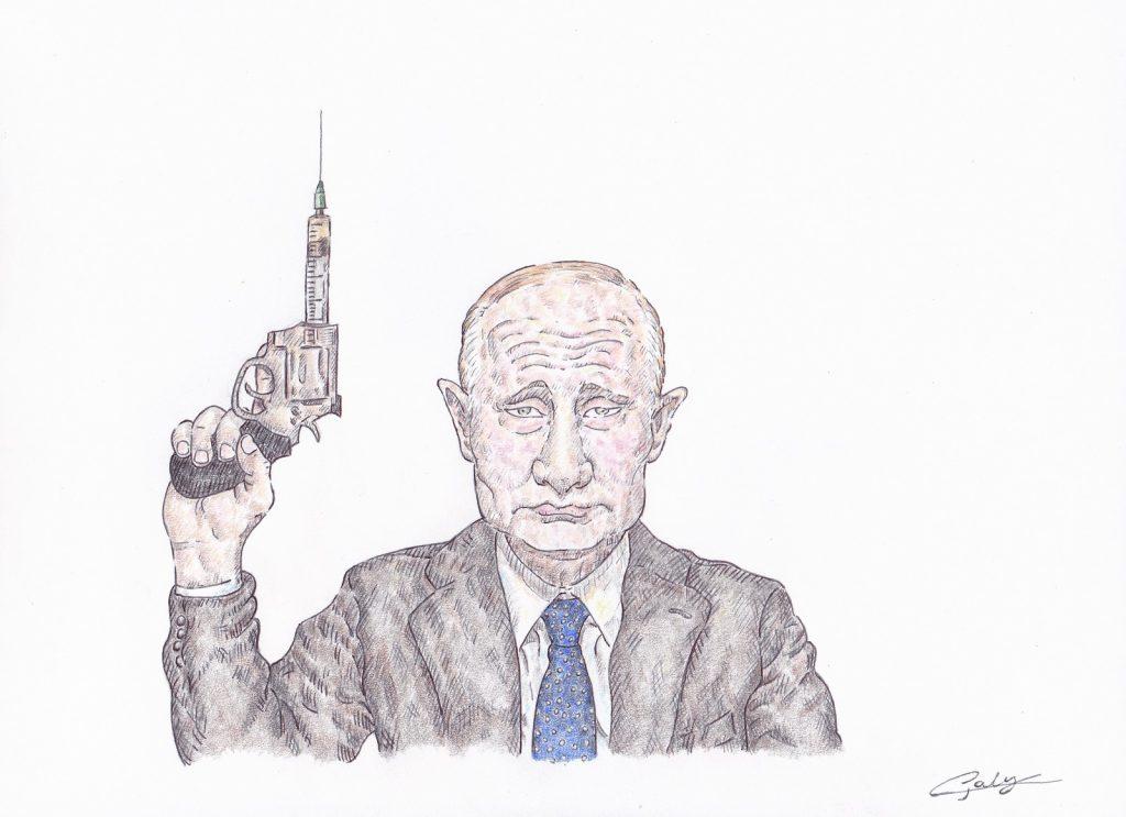 image drôle Vladimir Poutine image drôle coronavirus vaccin russe