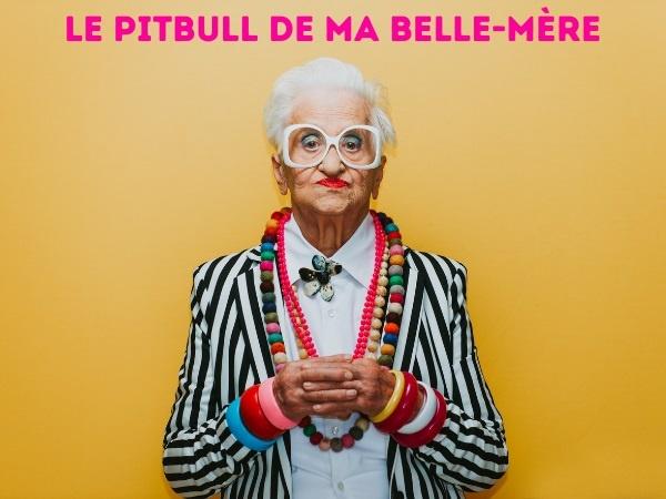 humour, Blague belles-mères, Blague pitbull, Blague animaux, Blague chiens, Blague rouge à lèvres