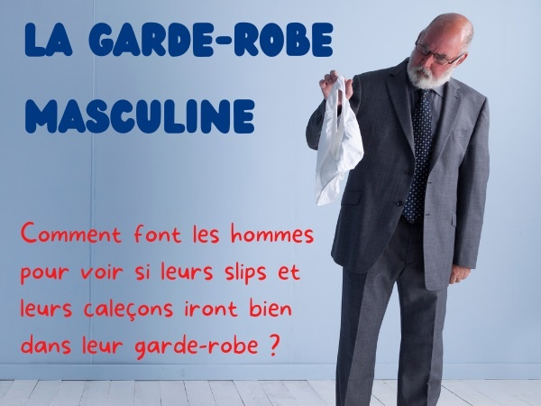 humour, blague hommes, blague vêtements, blague slips, blague caleçons, blague garde-robe, blague linge