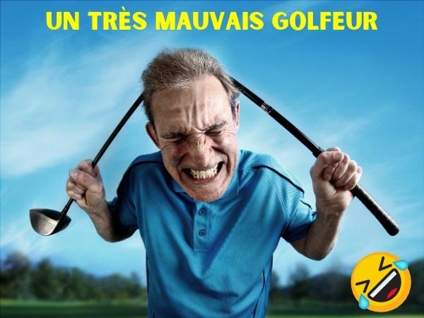 humour, blague golfeurs, blague sports, blague golf, blague caddys, blague licenciement, blague clubhouse