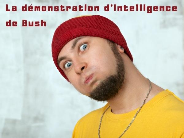 humour, blague George W. Bush, blague Dick Cheney, blague président, blague Américain, blague bêtise, blague taxi