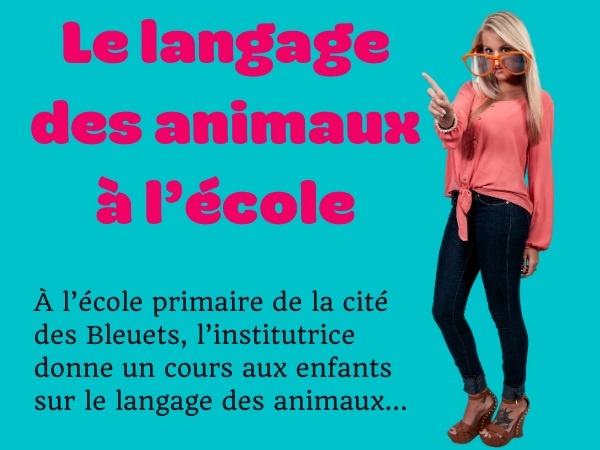 humour, blague Toto, blague école, blague institutrice, blague animaux, blague langage, blague ânes