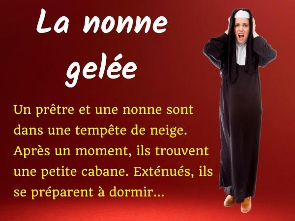 humour, blague religieux, blague religion, blague prêtre, blague nonne, blague tempête, blague froid