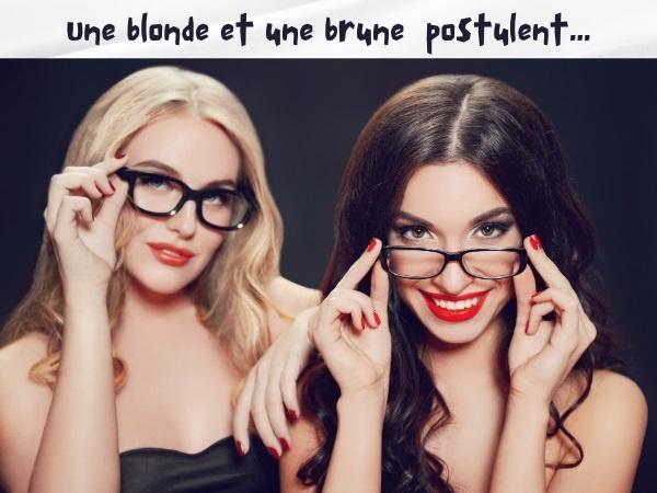 humour, blague blondes, blague brunes, blague embauche, blague secrétaire, blague entretien, blague questionnaire, blague triche, humour patronal