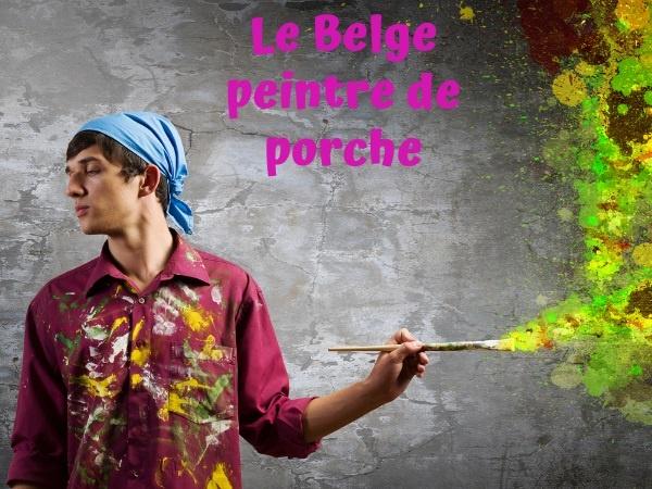 humour, blague belge, blague vacances, blague Cannes, blague job, blague porche, blague Porsche, blague Mercedes, blague peinture, blague voiture, humour belge