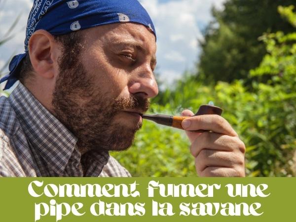 humour, blague fumer, blague savane, blague panthère, blague pipes, blague tabac, blague feu, blague fusil, blague cartouches, blague méthode, humour absurde