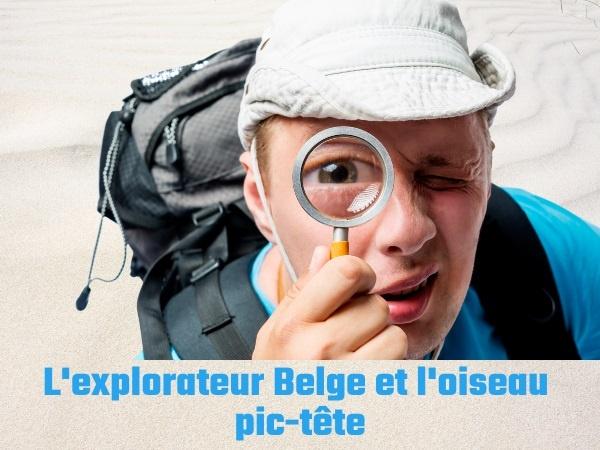 humour, blague sur les explorateurs, blague sur les Belges, blague sur les oiseaux, blague sur la sodomie, blague sur l'oiseau pic-tête, blague sur les bédouins