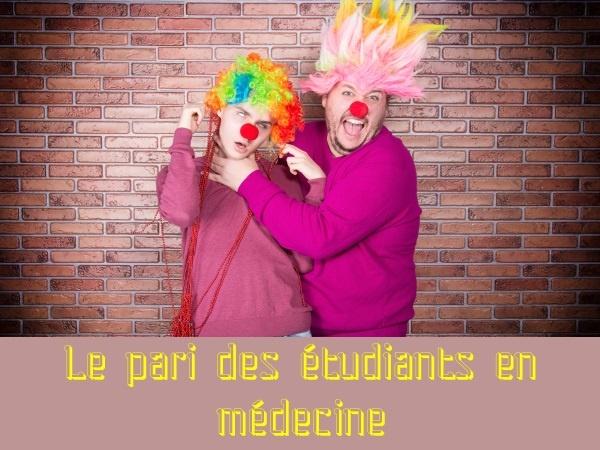 humour, blague sur les carabins, blague sur les étudiants en médecine, blague sur les paris, blague sur les blennorragies, blague sur les hémorroïdes, blague sur les diagnostics