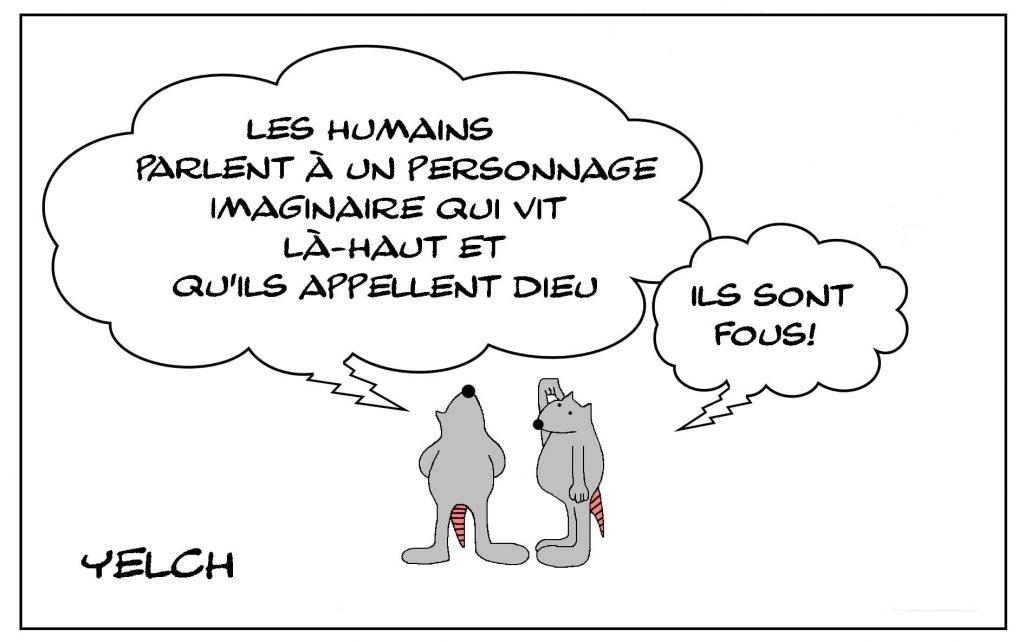 dessins humour personnage imaginaire image drôle Dieu religion