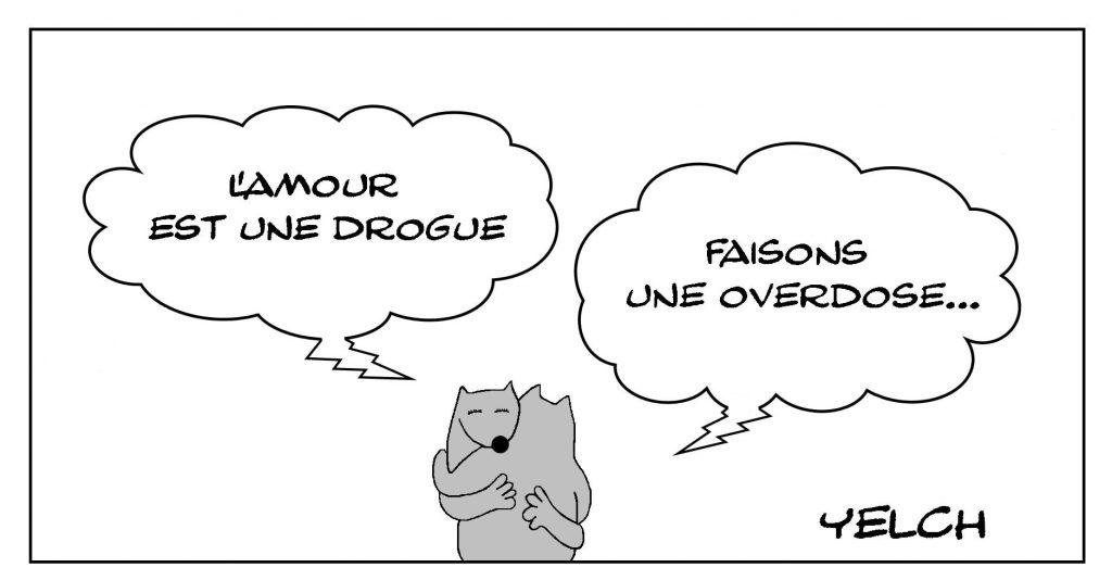 dessins humour amour drogue image drôle overdose