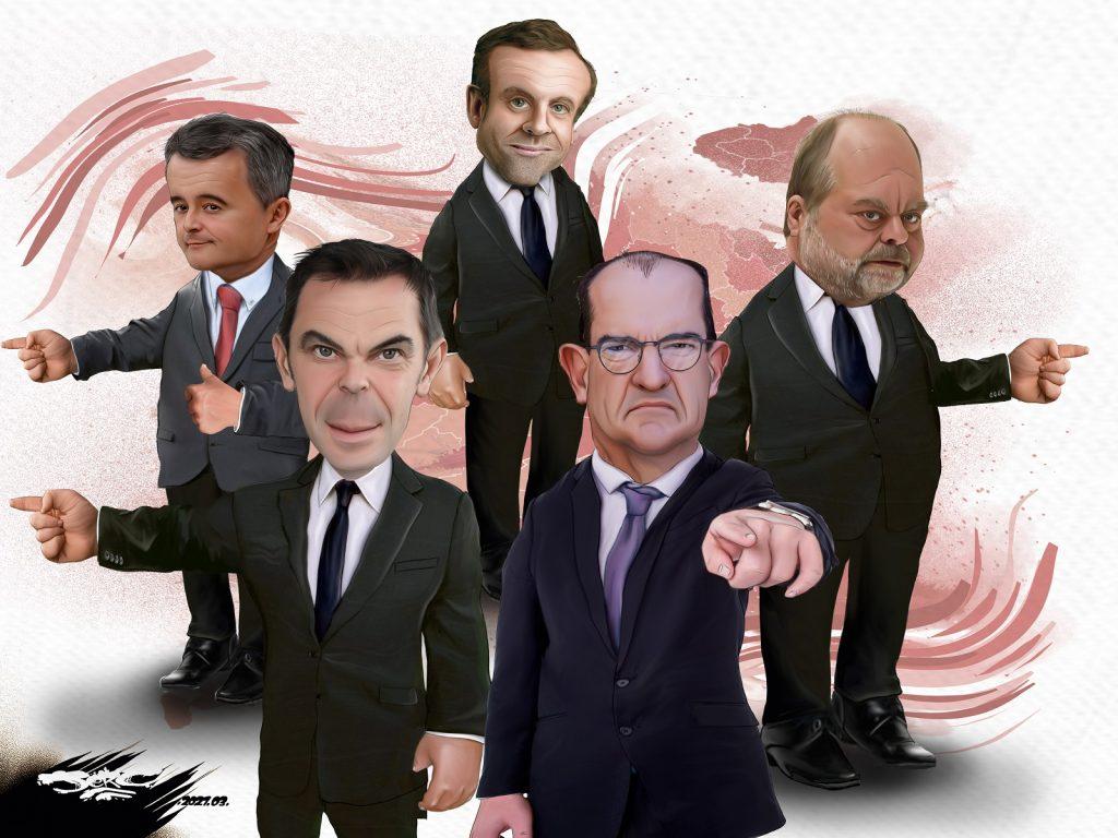 dessin presse humour Jean Castex nu image drôle Corinne Masiero Césars