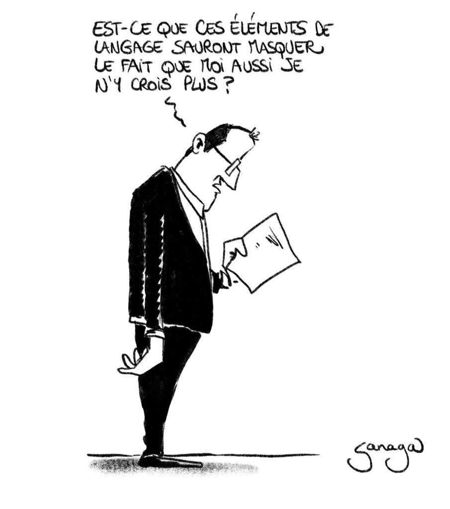 dessin presse humour coronavirus Jean Castex image drôle conférence de presse