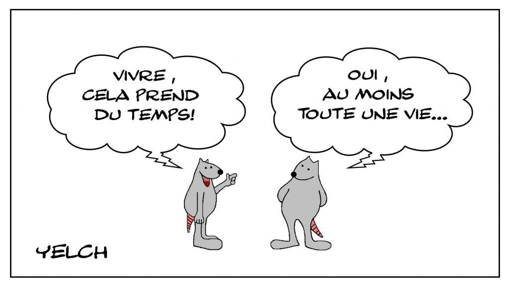 dessins humour vie temps image drôle durée