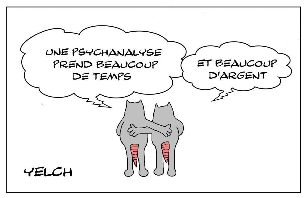 dessins humour psychanalyse image drôle temps argent