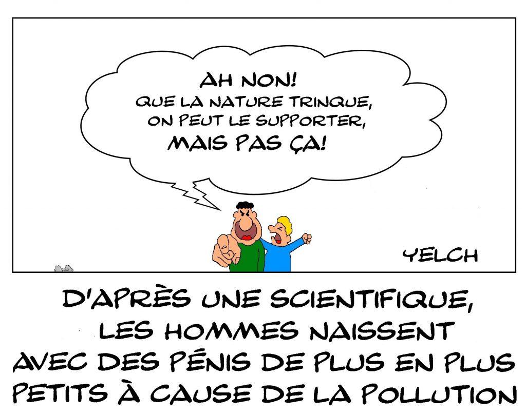 dessins humour pollution sexe image drôle taille du pénis