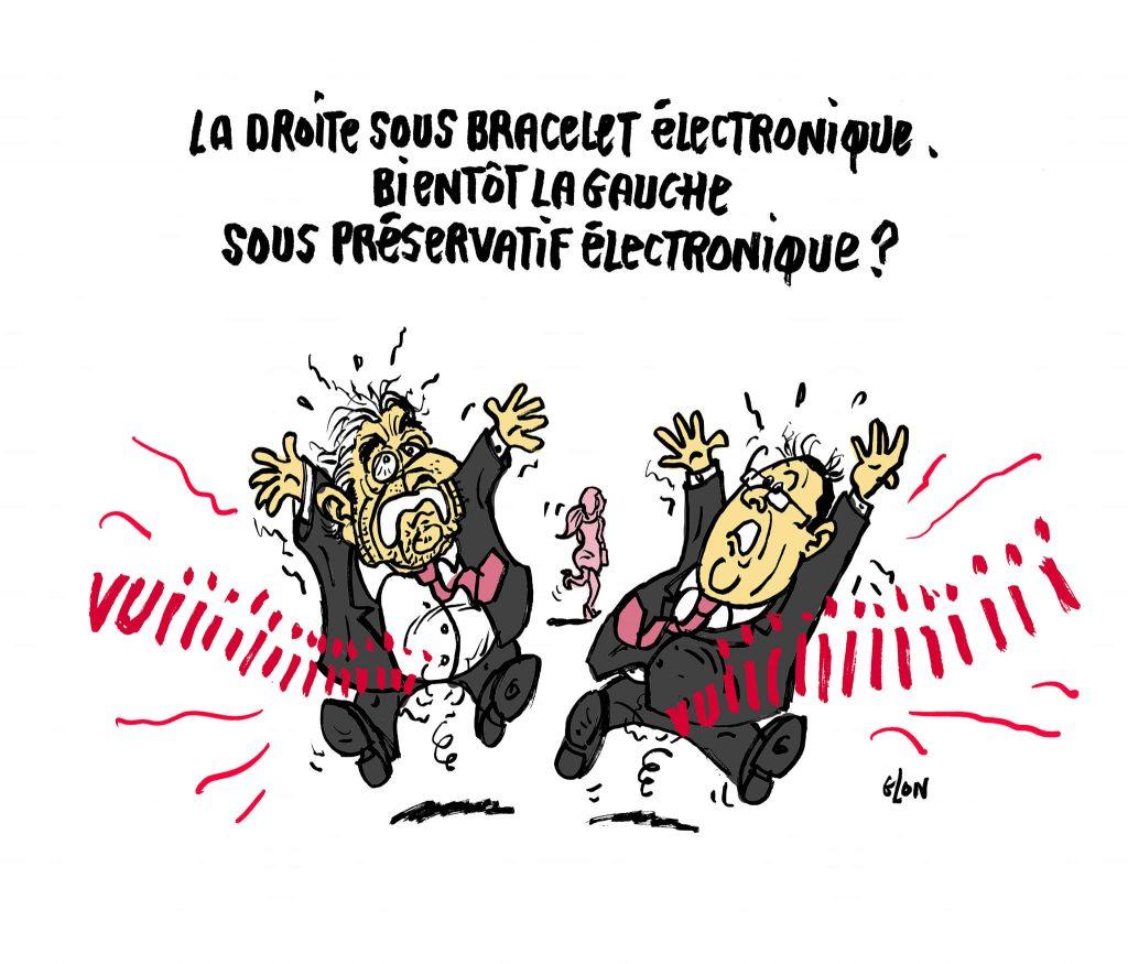 dessin presse humour François Hollande image drôle Dominique Strauss-Kahn