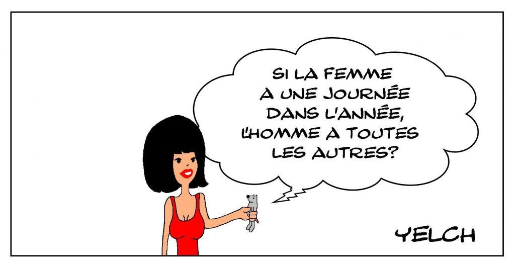 dessins humour journée internationale image drôle droits femmes 8 mars