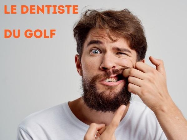 humour, blague dentistes, blague sport, blague golf, blague balle, blague douleur, blague couilles