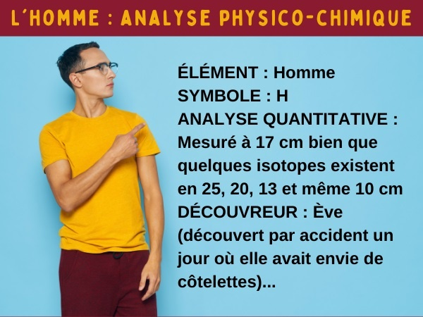 blague hommes, blague science, blague analyse, blague physique, blague chimie, blague biologie, humour