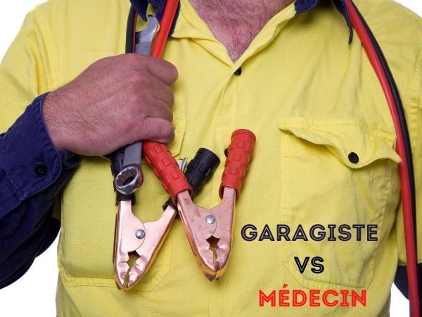 blague métier, blague garagiste, blague médecin, blague docteur, blague tarif, blague dépannage, blague réparation, blague modèle, blague auscultation, humour tarifaire, humour