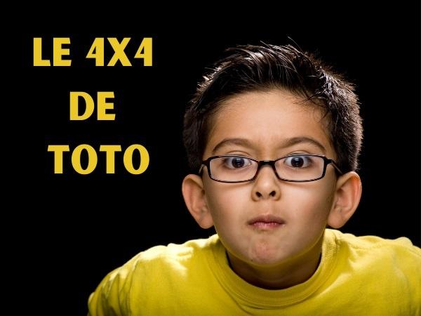 blague 4x4, blague Toto, blague voiture, blague calcul, blague opération, blague résultat, blague peinture, humour