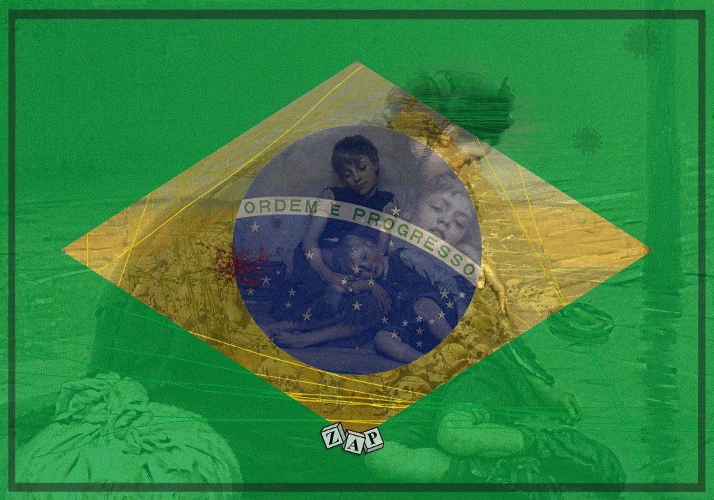 dessin presse humour coronavirus covid-19 image drôle mortalité Brésil