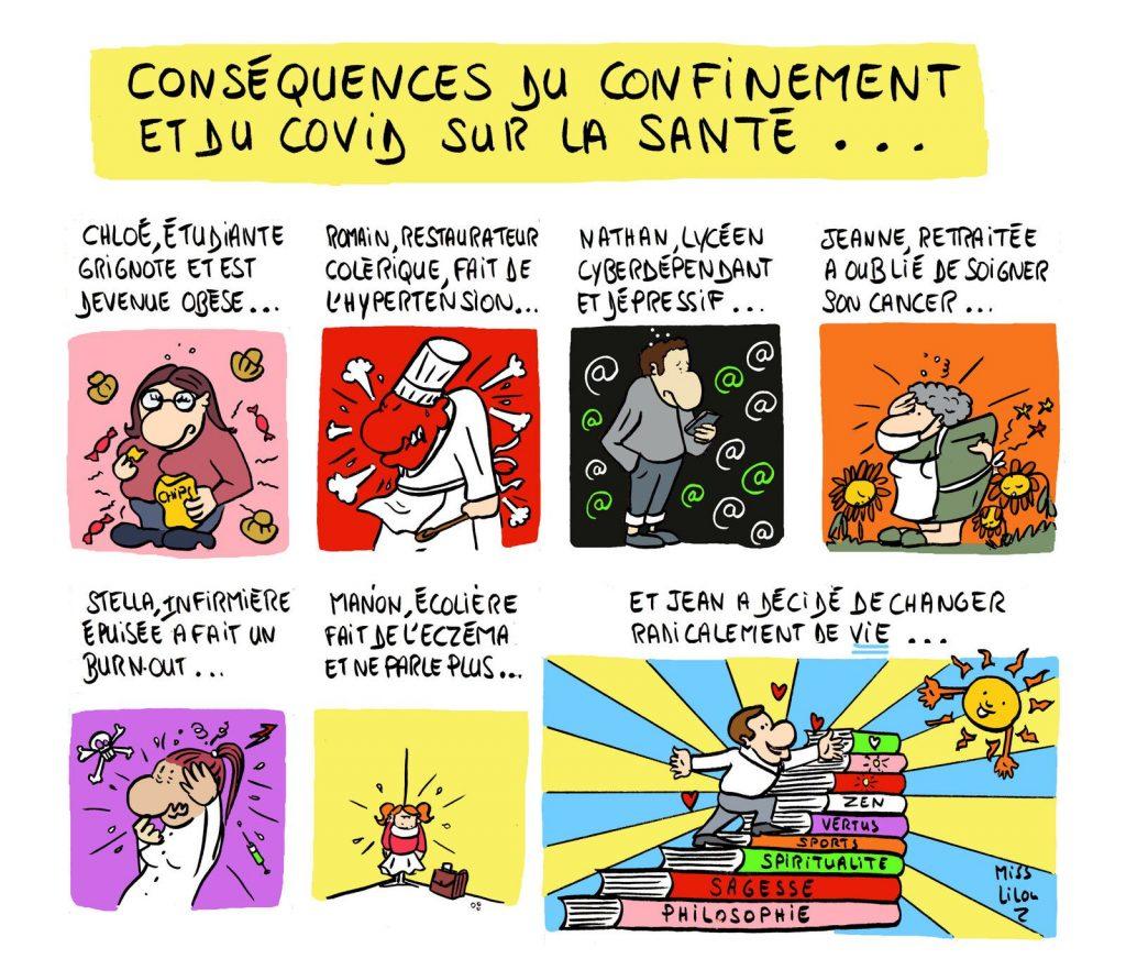 dessin presse humour coronavirus covid19 image drôle confinement santé