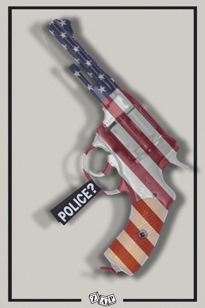 dessin presse humour États-Unis Minneapolis image drôle Daunte Wright police