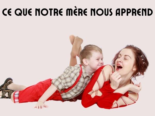 blague mères, blague parents, blague langage, blague apprentissage, blague leçons de vie, blague enfants, humour