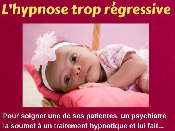 blague psychiatre, blague régression, blague hypnose, blague couches, blague bébé, blague première enfance, humour