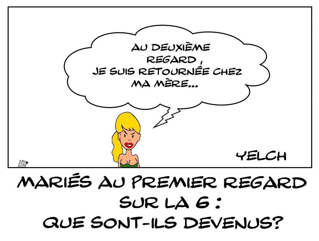 dessins humour mariés au premier regard image drôle devenir candidats