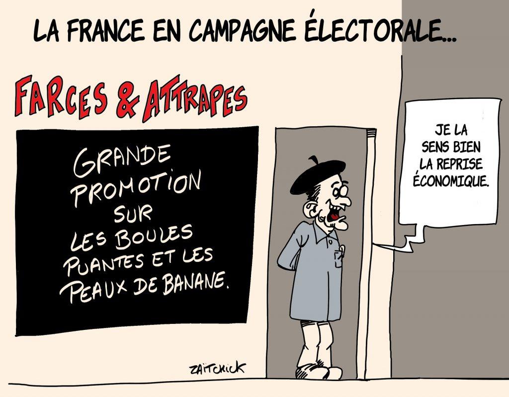 dessin presse humour coronavirus déconfinement image drôle campagne électorale
