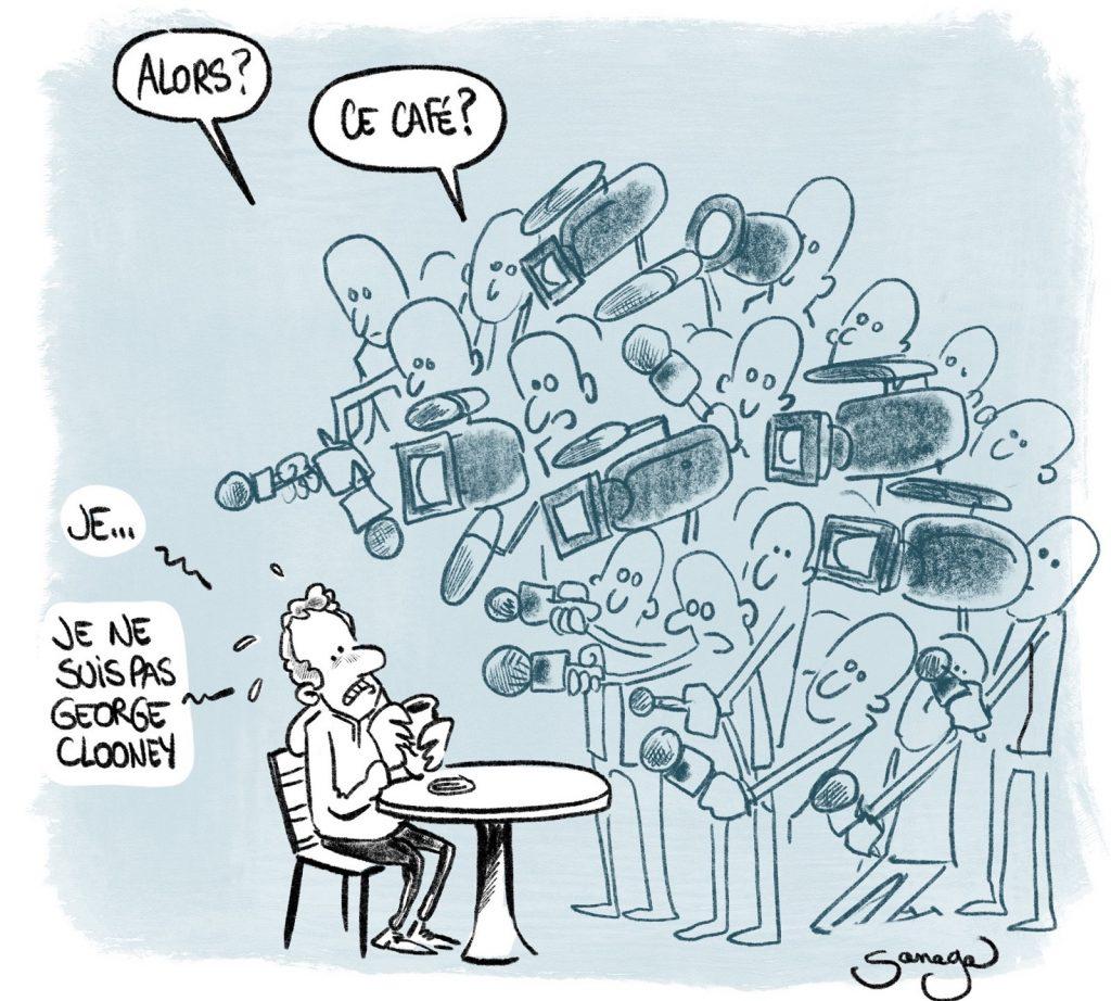 dessin presse humour coronavirus déconfinement image drôle réouverture terrasses médias