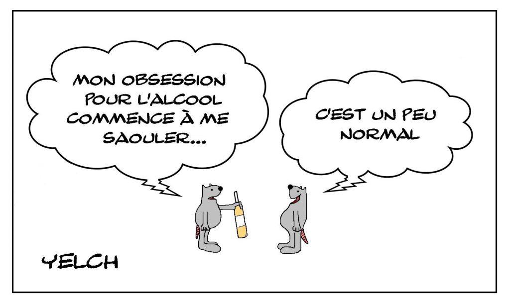 dessins humour alcool alcoolisme image drôle obsession saoulerie