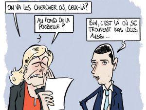 dessin presse humour élections régionales image drôle candidats Rassemblement National