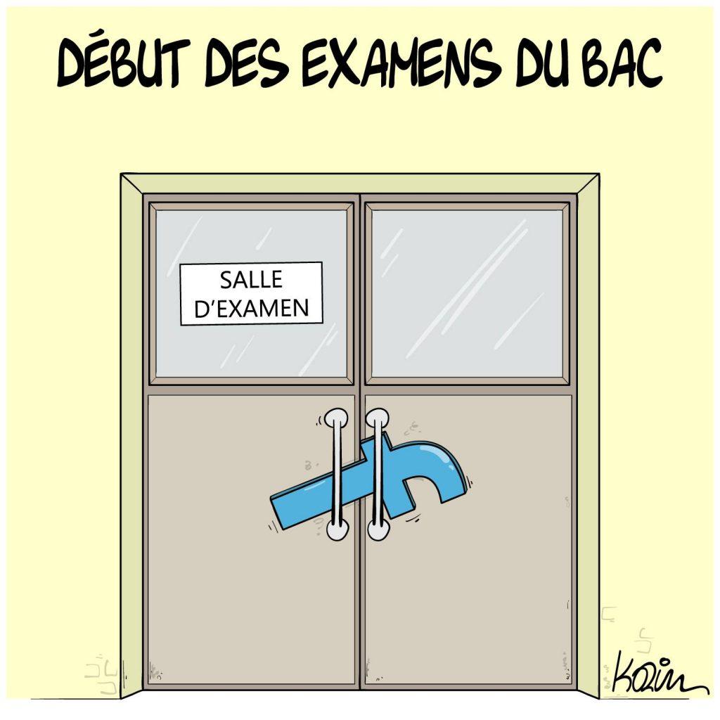 dessin presse humour examen Baccalauréat image drôle Bac Facebook