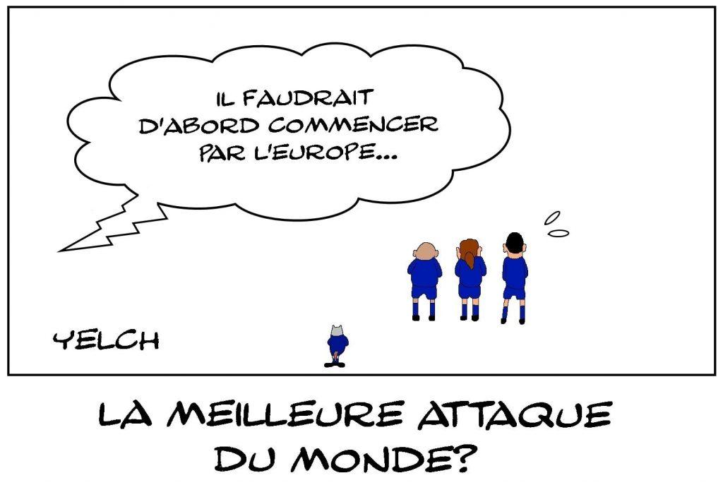dessins humour euro France-Suisse élimination bleus image drôle meilleure attaque
