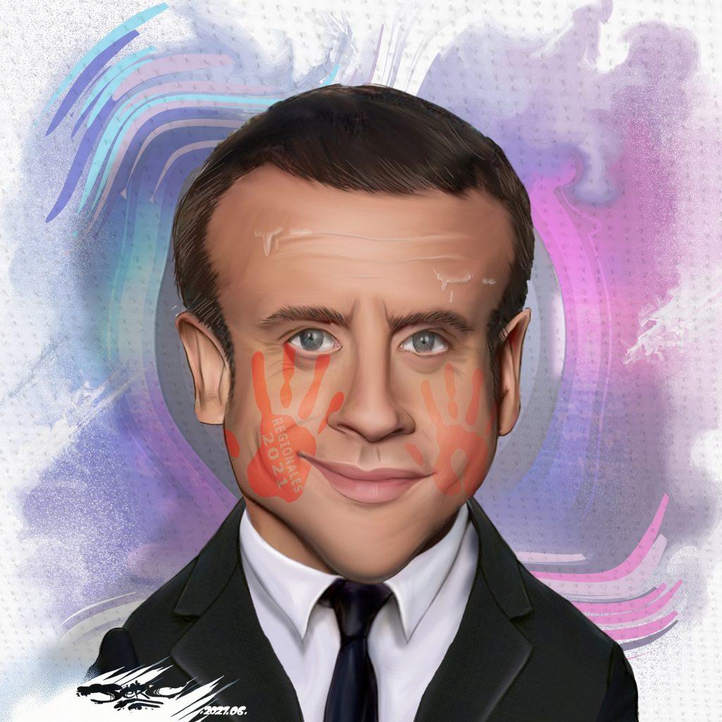 dessin presse humour élections régionales image drôle record abstention Emmanuel Macron