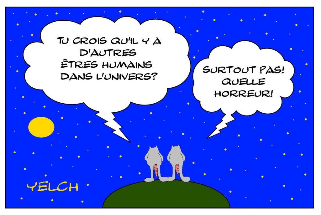 dessins humour être humains image drôle univers