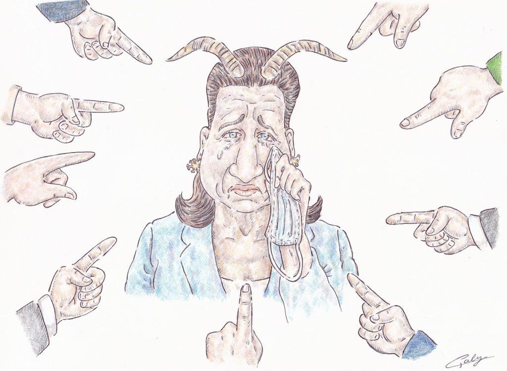dessin presse humour Agnès Buzyn gestion pandémie image drôle mise en examen