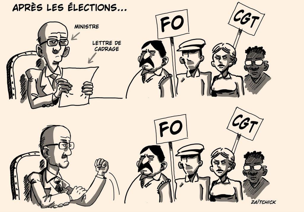 dessin presse humour présidentielle 2022 image drôle promesses électorales