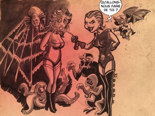 dessin humour Sucrette sexe image drôle Halloween
